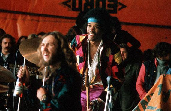 Jimi Hendrix and the Love & Peace Festival