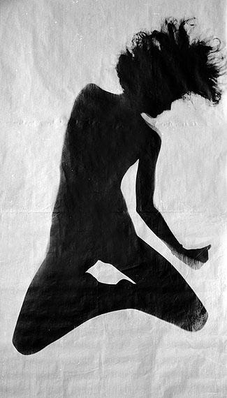 Floris Neusüss: Nudogramm, 1964. Pigment print © Floris Neusüss
