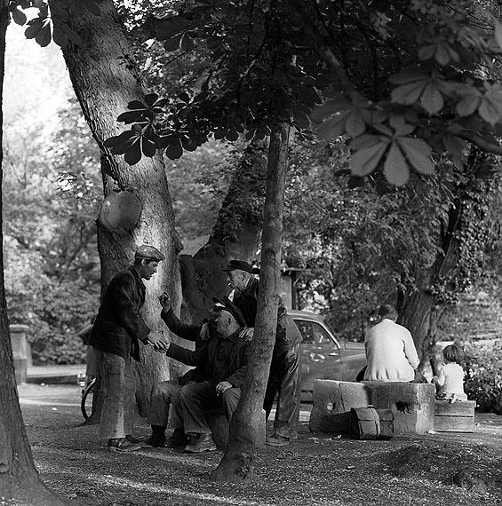 Heinrich Heidersberger: Am Schloss, 1962
