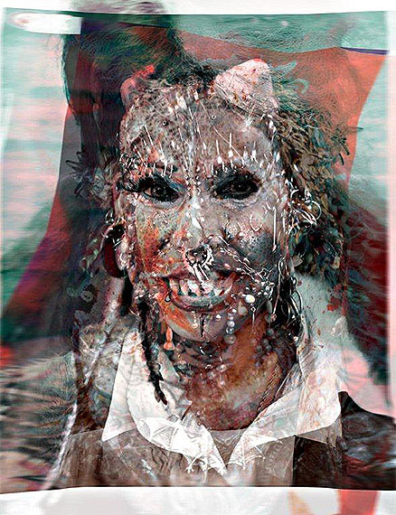 Tobias Trutwin, unsere dame dolorodes of nagasaki mit perlenohrringen | 80 x 61,44 cm
