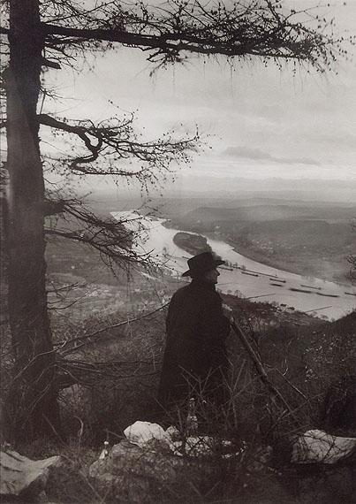 August SanderAugust Sander im Siebengebirge, 1940Gelatin Silver Print (posthumous print by Gerd Sander)23 x 17.2 cmStamped on verso