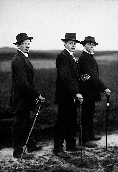 Young Farmers, 1914, © SK-Stiftung Kultur - August Sander Archiv / VG-Bild Kunst, Bonn