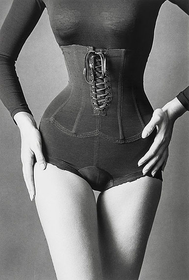Jeanloup Sieff, Corset, New York, 1962, Gelatin silver print, signed and dated in the margin, £8,000 - 12,000