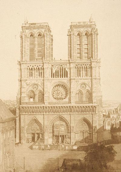 Charles Nègre (1820-1880)Notre Dame, ca.1853Salt print32.4 x 23cm