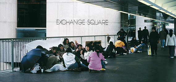 Moira Zoitl: Exchange Square, 2002