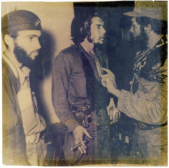 Lot 4159 - Roberto Salas (attributed to): Che Guevara. 1958. Vintagechromogenic print on transparent Kodak foil