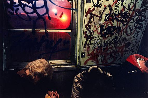 © Bruce Davidson, U-Bahn, New York City 1979