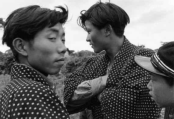 Young Men, Niida Akita 1952 © Ihei Kimura