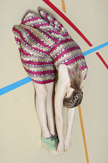 Viviane Sassen, Carven campagne, Femme été 2012