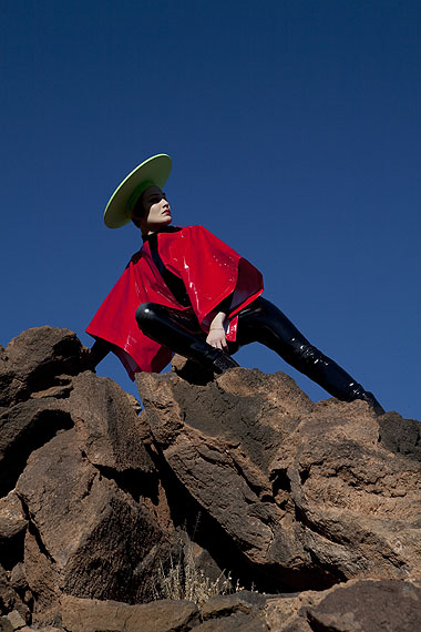 Viviane Sassen, Roxane Danset in Cardin (For Fantastic Man), 2009