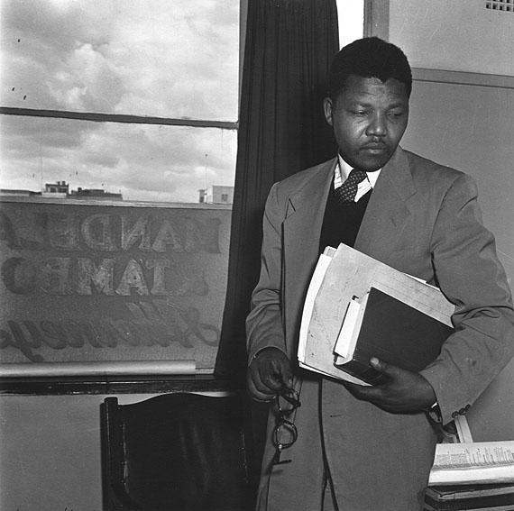 Jürgen Schadeberg: Nelson Mandela, 1952