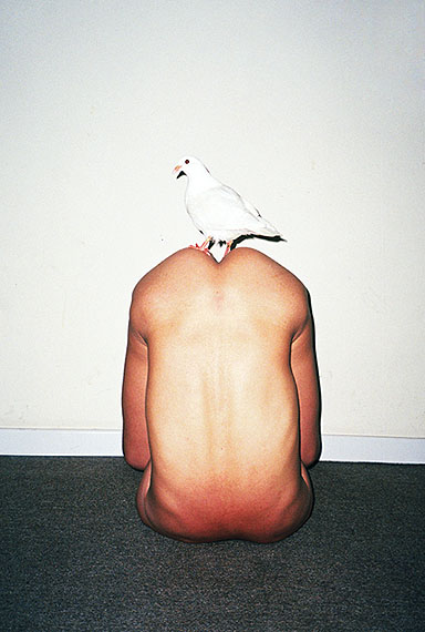 Ren Hang, Untitled 01, 2012, Archival inkjet print, 100 x 67 cm (Edition of 10) / 40 x 26 cm (Edition of 10)(Image courtesy of the artist and Blindspot Gallery)