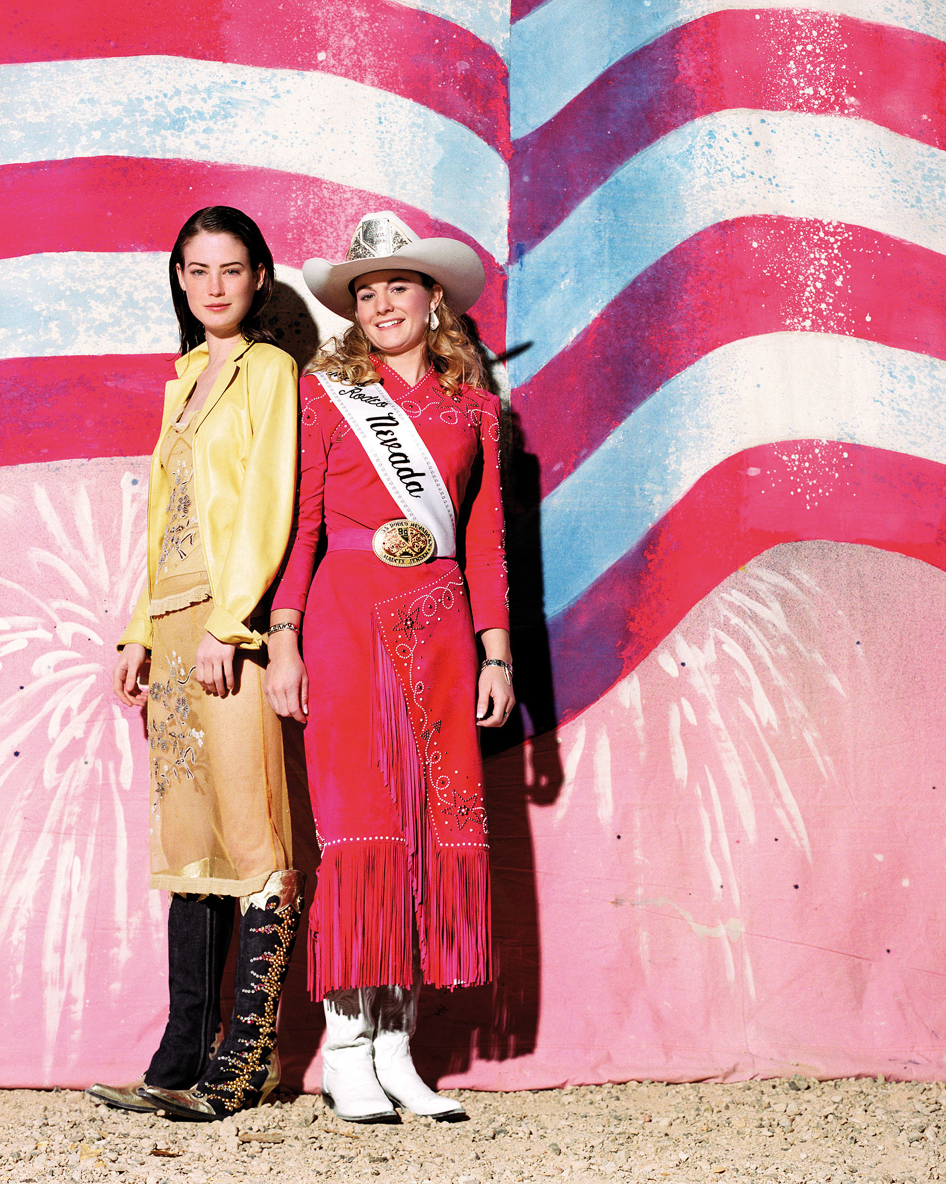Hannes Schmid, Miss Nevada, a.d.S.: Las Vegas, 1999 / 2012, Digital C-Print, 75 x 60 cm, © the artist