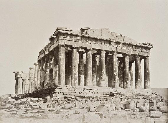 Akropolis, Athen, Anonym, 1889Bildnachweis: Reiss-Engelhorn-Museen/Forum Internationale Photographie