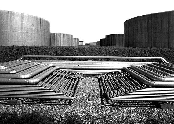 Robert Häusser: Tanklager, Erdöl, 1965