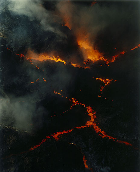 Sonja Braas: The quiet of dissolution, Lava flow, 2005