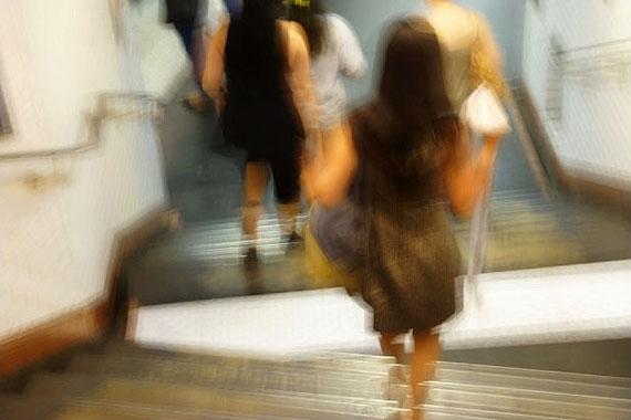 Tilmann Krieg: Follow me - Paris 2012 - 150 x 100 cm