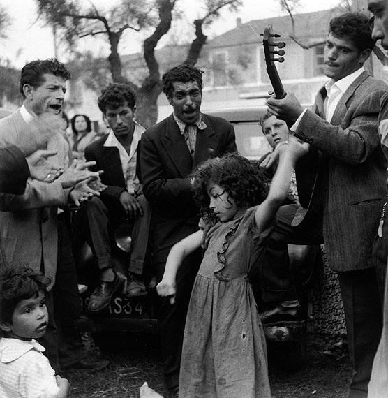 Lucien Clergue: Manitas de Plata & José Reyes, 1955