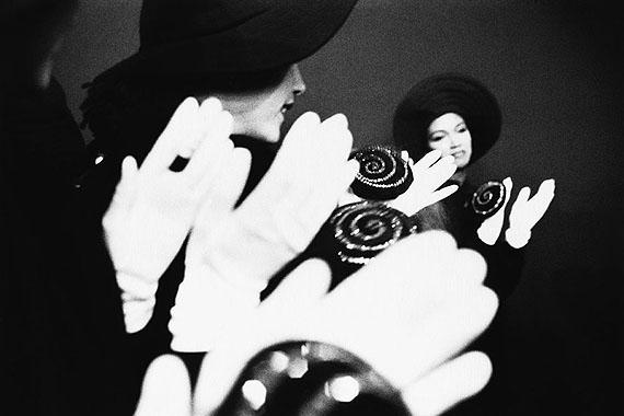 Gérard Musy: Katoucha,  Défilé Sonia Rykiel, Paris, 1987