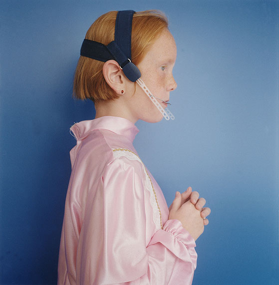 Hellen van Meene, Untitled, 1995Courtesy Sadie Coles HQ, London and the artist