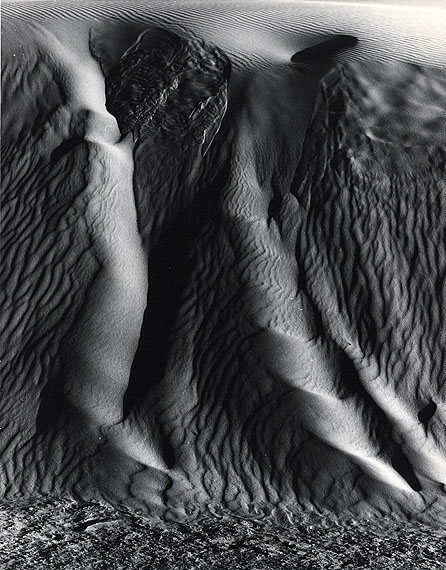 Dune, White Sands, 1975 © The Brett Weston Archive.