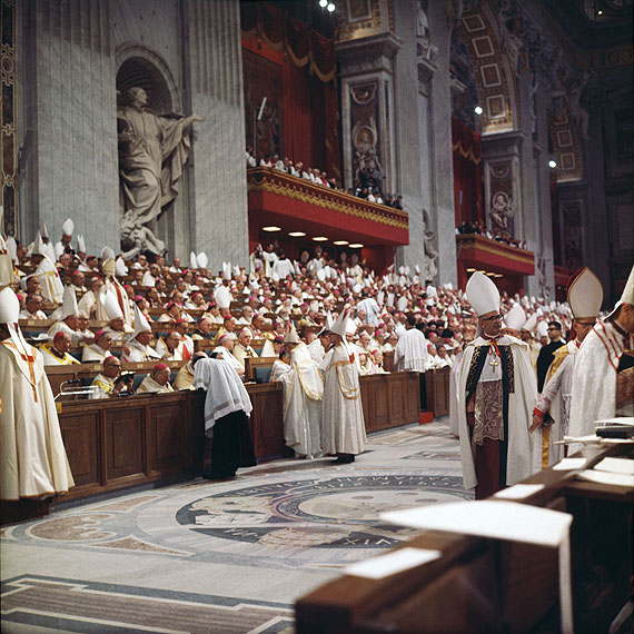 Lothar Wolleh From the series: Second Vatican CoincilRom um 1962-65© Oliver Wolleh