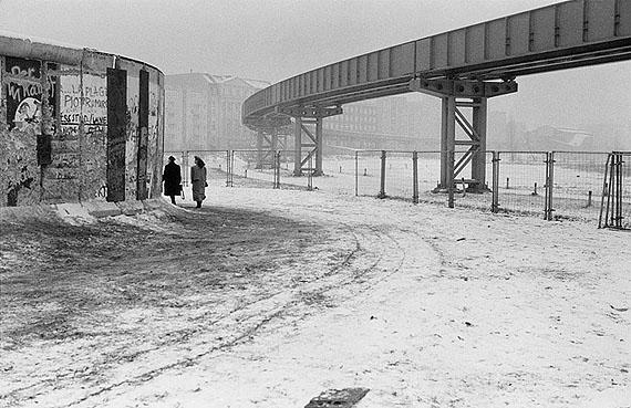 Thomas Wolf: Berlin, am Gleisdreieck, 03.01.1990