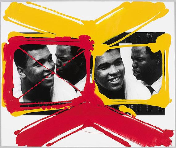 William Klein, Miami, 1964 Contact peint original, 2010, © William Klein, courtesy Polka Galerie