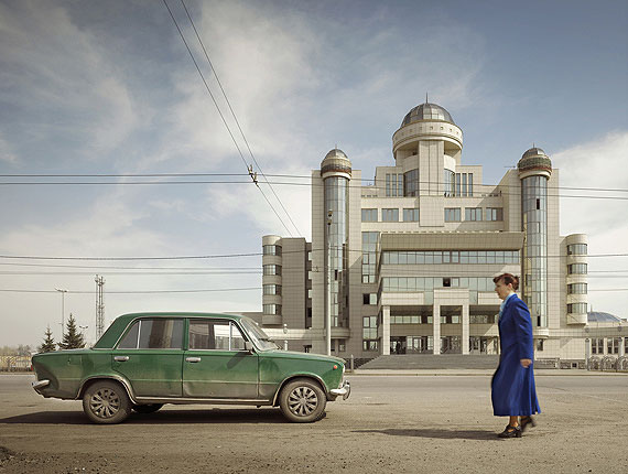 Frank Herfort: Traffic Police Headquarters, Samara 2006/20011