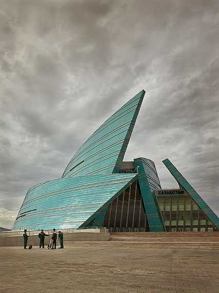 Frank Herfort: Kazakhstan Central, Concert Hall, 2009/2012