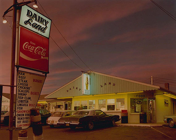 Dairyland, Provincetown, 1976. Chromogenic print; printed 1978. 7 5/8 X 9 5/8 inches. © Joel Meyerowitz, courtesy Howard Greenberg
