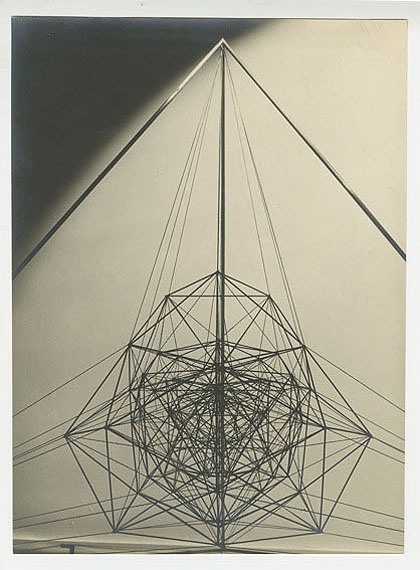 lot 140 :Man Ray (1890 - 1976)Objet mathématiqueParis, 1935