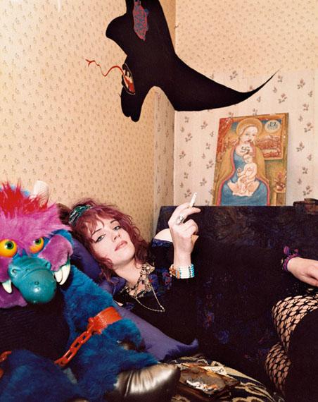 Eva Leitolf: München, Uta, aus der Serie Tanzlokalportraits, 09.12.1989
