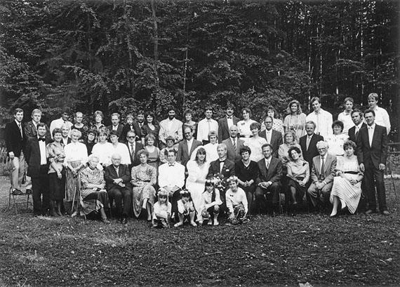 Frank-Heinrich Müller: Haldensleben, Hochzeit der Familie Wesarg, 09.09.1989