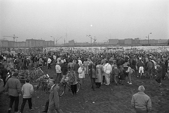 Karl-Ludwig Lange: Berlin, Potsdamer Platz, 12.11.1989