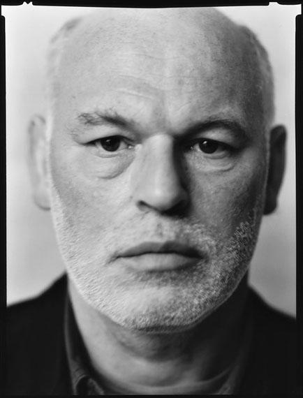 Werner Lieberknecht: Dresden, Portrait im Atelier:  Manfred aus Amsterdam, 20.12.1989
