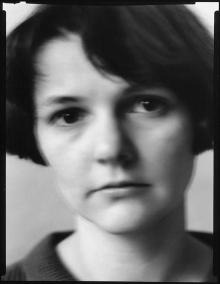 Werner Lieberknecht: Dresden, Portrait im Atelier: Sabine, 30.08.1989