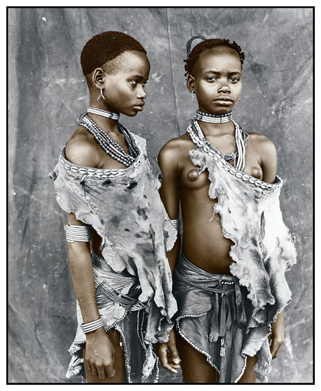 Meisa & Bona (13), Hamer Tribe, Ethiopia 2008