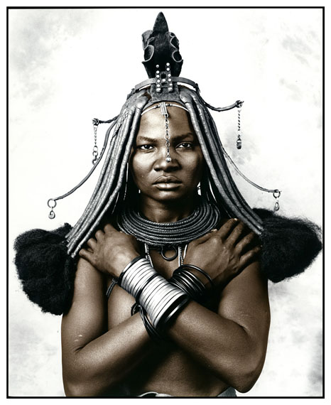 Katukula (18), Picture 1, Himba Tribe, Namibia 2012