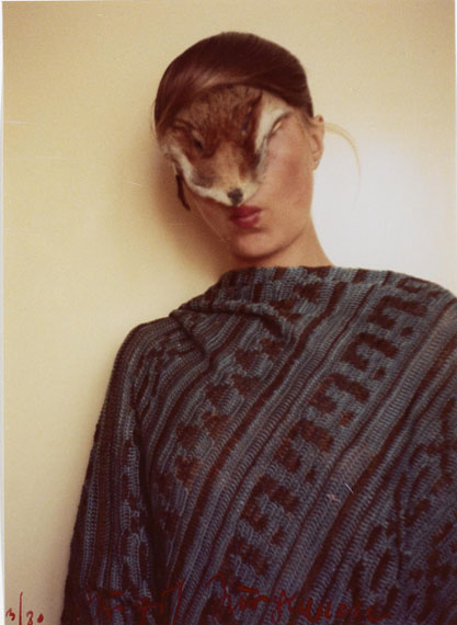 Untitled (Self with Little Fur), 1974-1977 Birgit Jürgenssen © Estate of Birgit Jürgenssen / VBK, Vienna, 2012 / SAMMLUNG VERBUND, Vienna