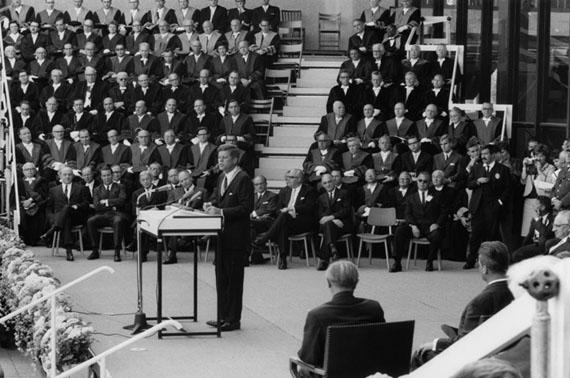 © Ulrich Mack, John F. Kennedy, Berlin 1963