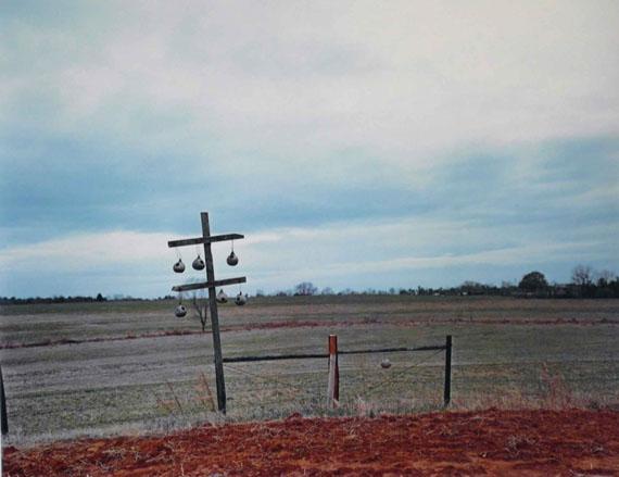 William ChristenberryGourd Tree, near Akron Alabama, from the portfolio Ten Southern Images , 1979Vintage dye transfer print©William Christenberry