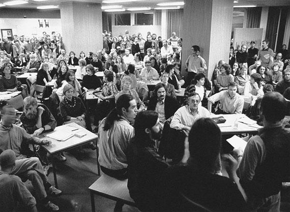 Michael Schroedter: Berlin, VBK Diskussion, 30.10.1989