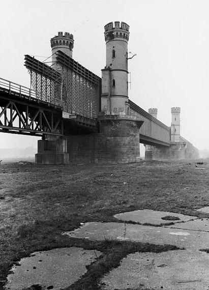 Zayd Robert Paris: Bei Dirschau (Polen), Brücke über die Weichsel, 14.10.1989