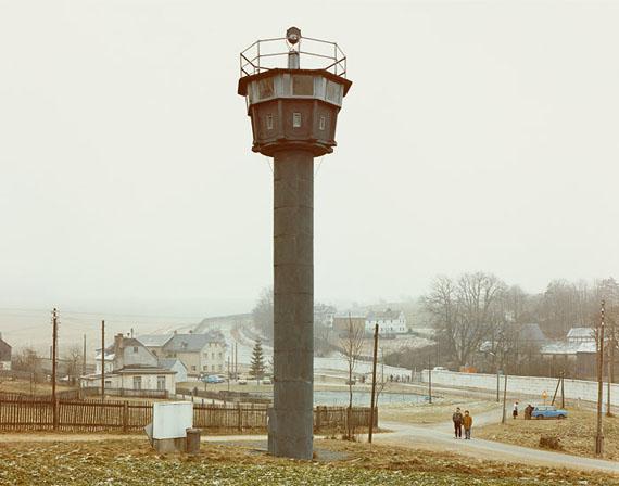 Alfred Seiland: Mödlareuth (Thüringen), 01.01.1990