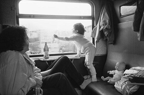 Helfried Strauß: Unterwegs im Zug nach Plauen, 26.10.1989