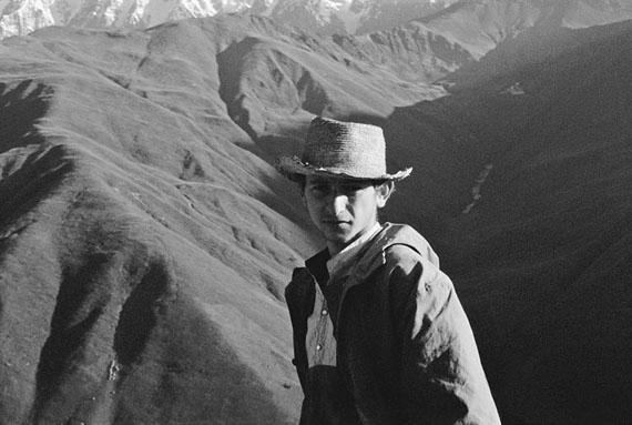 Kathrin Senf: Uschguli (Georgien), in den Bergen Swanetiens, 08.09.1989