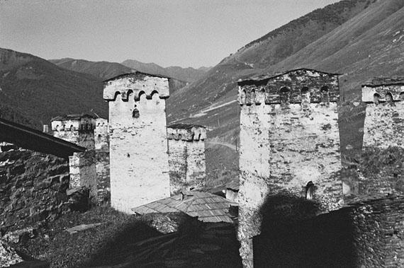 Kathrin Senf: Uschguli (Georgien), in den Bergen Swanetiens, 07.09.1989