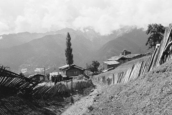 Kathrin Senf: Latali (Georgien), in den Bergen Swanetiens, 04.09.1989