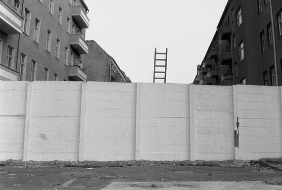 Renate Zeun: Berlin, Die Leiter, 12.11.1989
